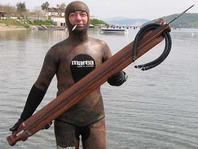 Большое ружье для подводной